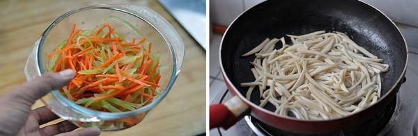 拌杏鲍菇 ----- 清爽小菜怎么爱你都不嫌多 - 荷塘秀色 - 茶之韵