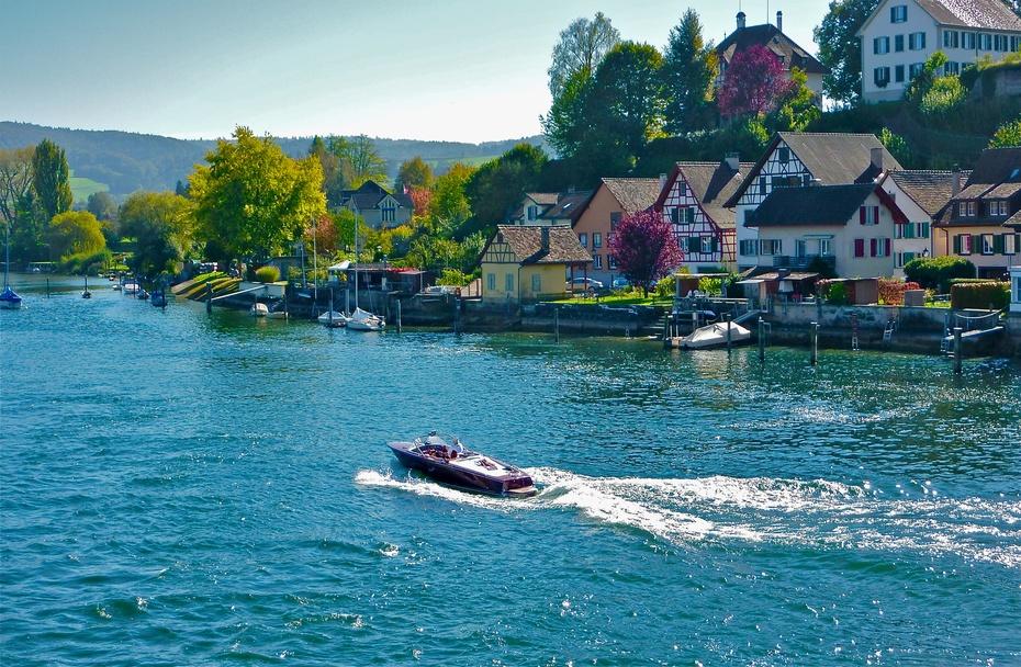 瑞士施泰因-河畔 - H哥 - H哥的博客