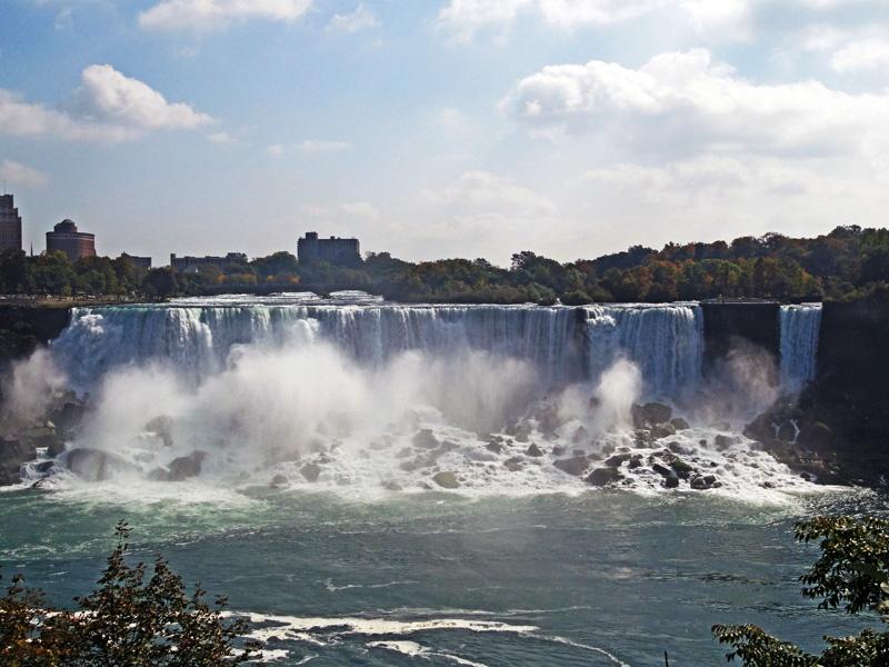 连接美加的世界第一大瀑布-尼加拉大瀑布 - sihaiyunyou - sihaiyunyou的博客