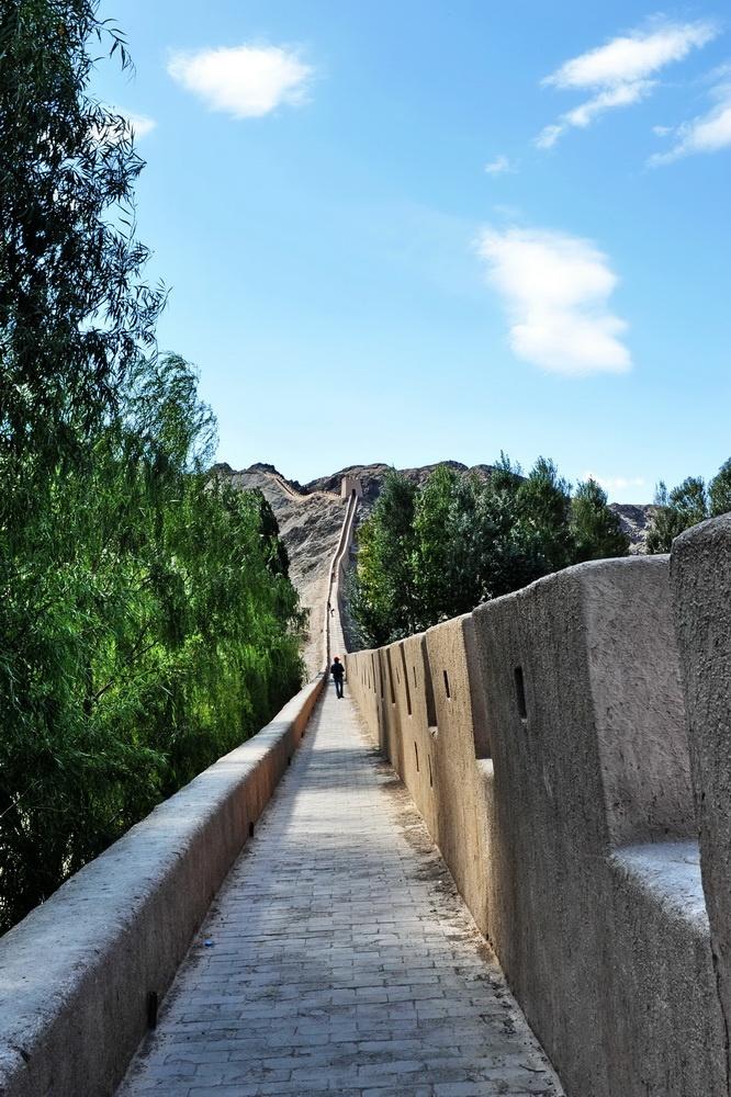 西行漫记之十三:悬壁长城 - hubao.an - hubao.an的博客