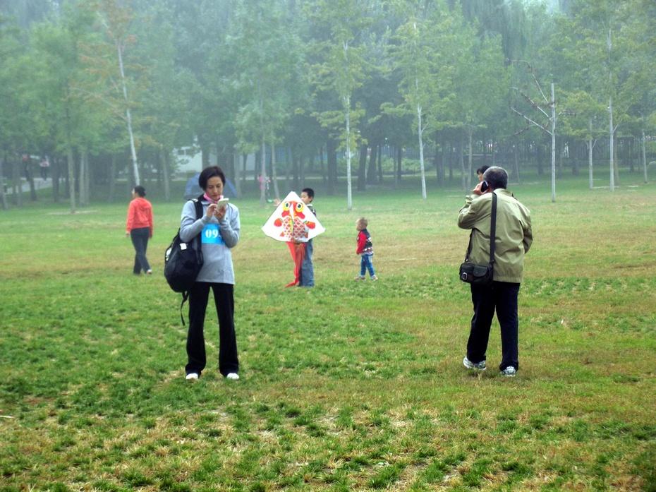 放风筝的女孩 图片故事图片