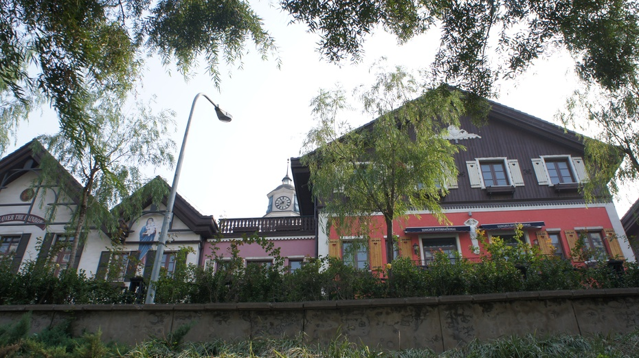 北京城里的艺术建筑——通惠小镇 - 余昌国 - 我的博客