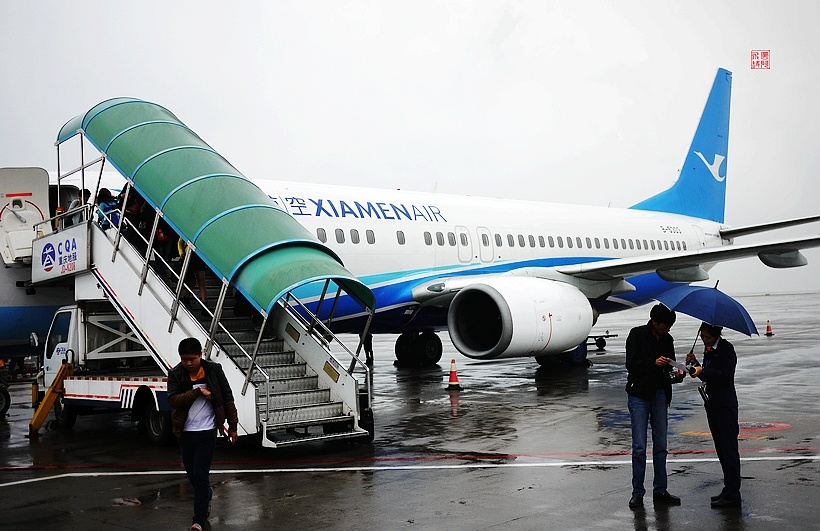 南宁呆了一个多月,乘b-5303号飞机返重庆啦:)