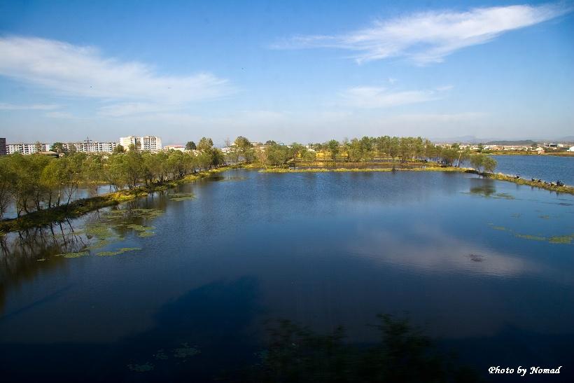 走进朝鲜--- 实拍朝鲜秀美的田园风光 - 国防绿 - ★☆★国防绿JL★☆★