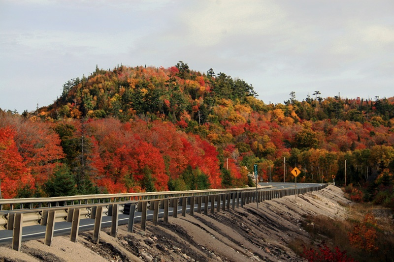 秋季开车沿加拿大苏必利尔湖畔(北美五大湖之一)奔向多伦多 - sihaiyunyou - sihaiyunyou的博客