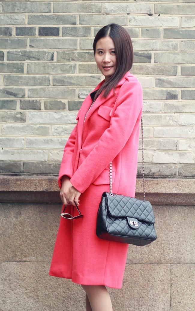 【10-28】冬天需要一款红色呢外套 - 巧麻大人 - 新浪微博@我是巧麻