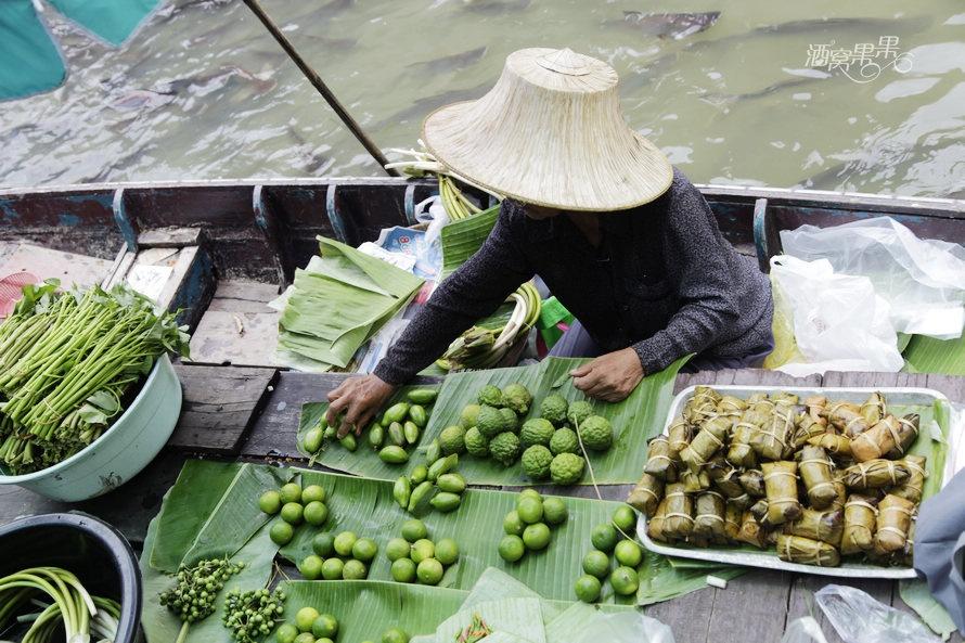 泰国鲜为人知的水上市场—Taing chan传统水上市场 - 酒窝果果 - 酒窝果果