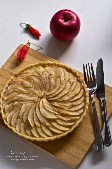 苹果做点心_柠檬苹果塔。一个人做点心-礼拜天的心情-搜狐博客