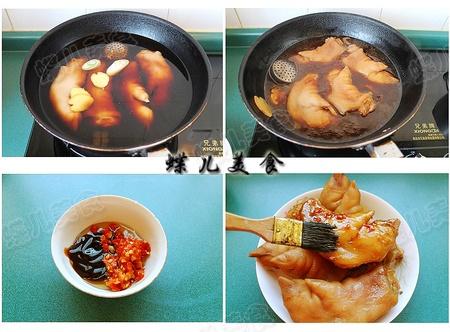 【厨艺课堂】香辣可口又美容的烤猪蹄 - 慢美食 - 慢 美 食
