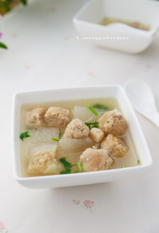 如何做冬瓜丸子汤