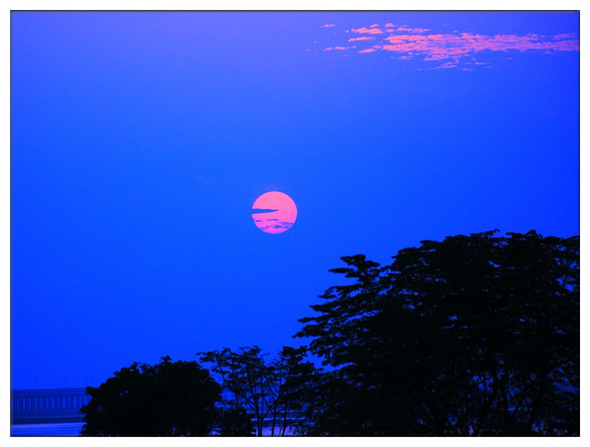 南昌军山湖:渔舟唱晚 - 余昌国 - 我的博客