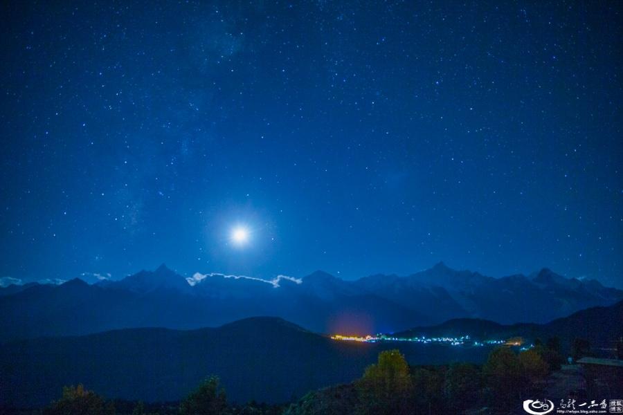 神奇美丽的梅里雪山 - 余昌国 - 我的博客