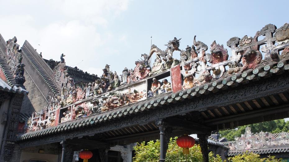 中国清代宗祠建筑杰作:广州陈家祠堂 - 余昌国 - 我的博客