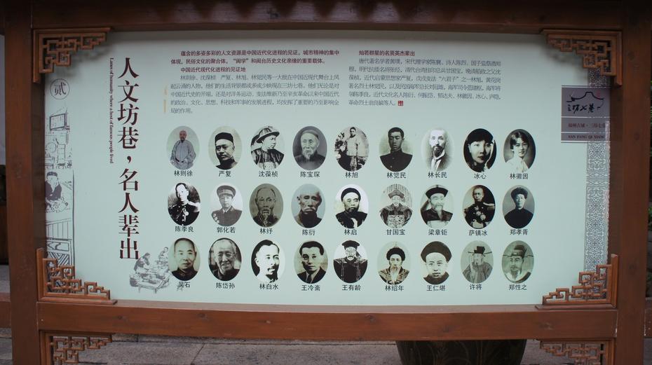 中国历史文化名街区:福州三坊七巷 - 余昌国 - 我的博客