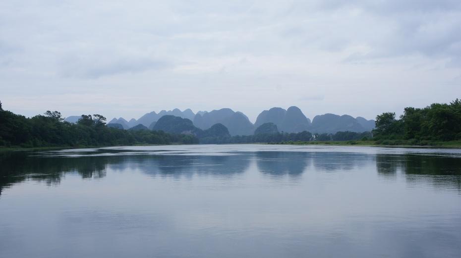 漓江上游:原生态的美 - 余昌国 - 我的博客