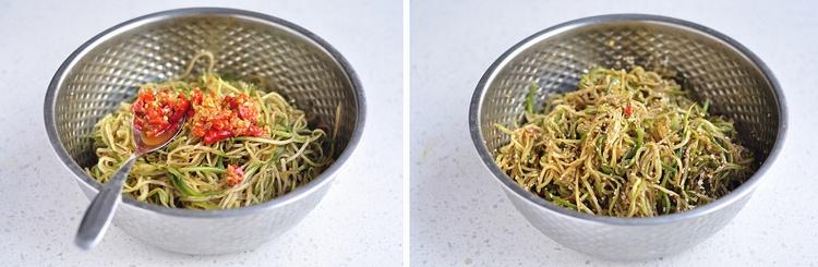 萝卜丝咸菜-狼之舞 - 荷塘秀色 - 茶之韵