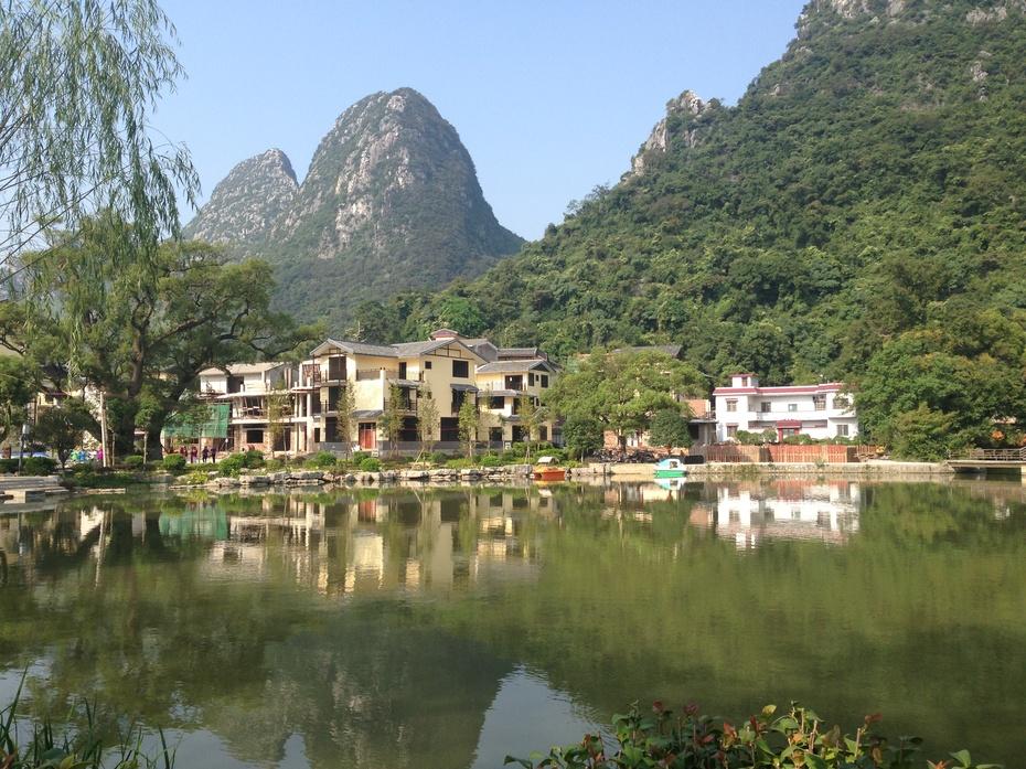 桂林特色旅游名村:鲁家村 - 余昌国 - 我的博客