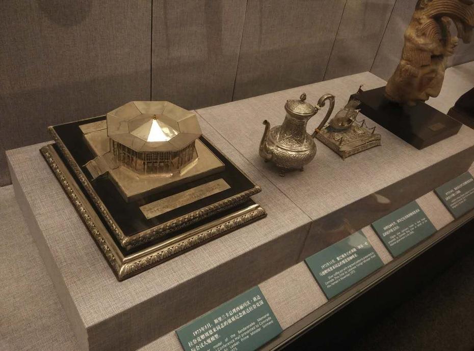 国家博物馆:领导人外交活动受赠礼品展 - 余昌国 - 我的博客