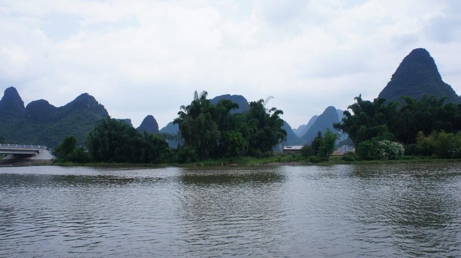 桂林山水第一湾:荔江湾 - 余昌国 - 我的博客