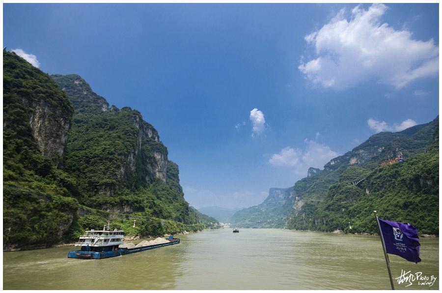 【宜昌】船过葛洲坝畅游西陵峡 - 蓝风 - 蓝风的图像家园