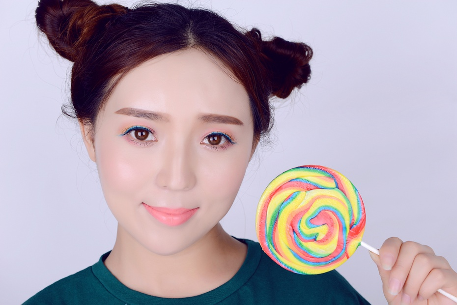 【袁一诺vIvian 】初秋甜蜜糖果妆,做你的甜心妹子 - 小一 - 袁一诺vivian