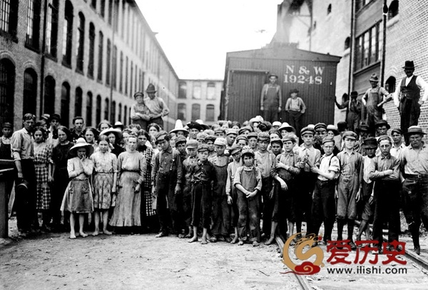 20世纪初美国摄影师镜头下的童工 - 爱历史 - 爱历史---老照片的故事