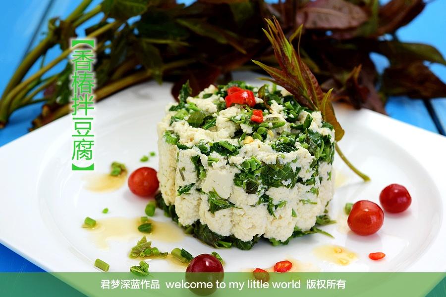 香椿拌豆腐 - 草原恋 - 草原恋的图片博客