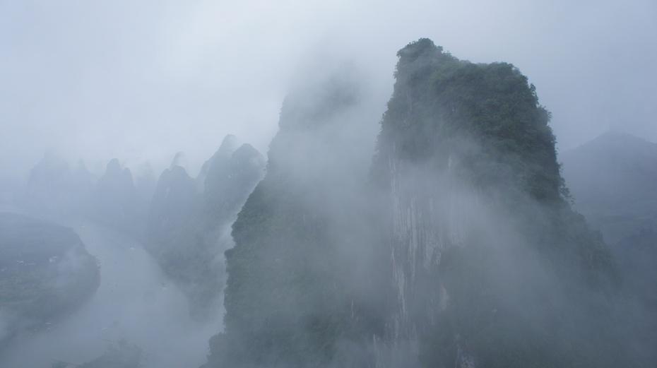桂林:相公山上观漓江 - 余昌国 - 我的博客