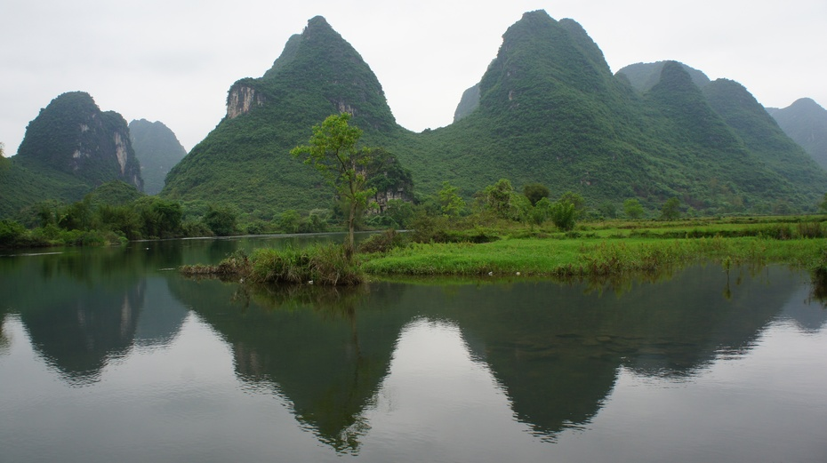 桂林:秀美遇龙河 - 余昌国 - 我的博客