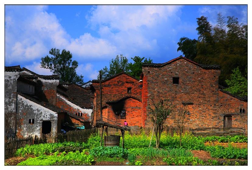 美丽的生态古村:江西婺源龙池汰 - 余昌国 - 我的博客