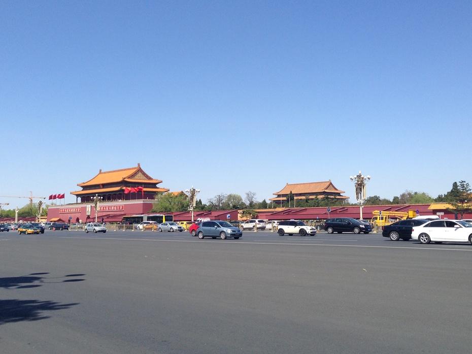 北京沙尘之后的蓝天 - 余昌国 - 我的博客