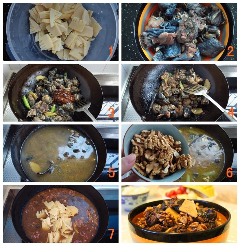 桃仁春笋炖乌鸡:应季又滋补 - 慢美食博客 - 慢美食博客 美食厨房