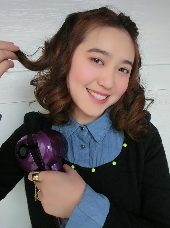 【小一】素颜妹子演绎一个特别的卷发魔术 - 小一 - 袁一诺vivian