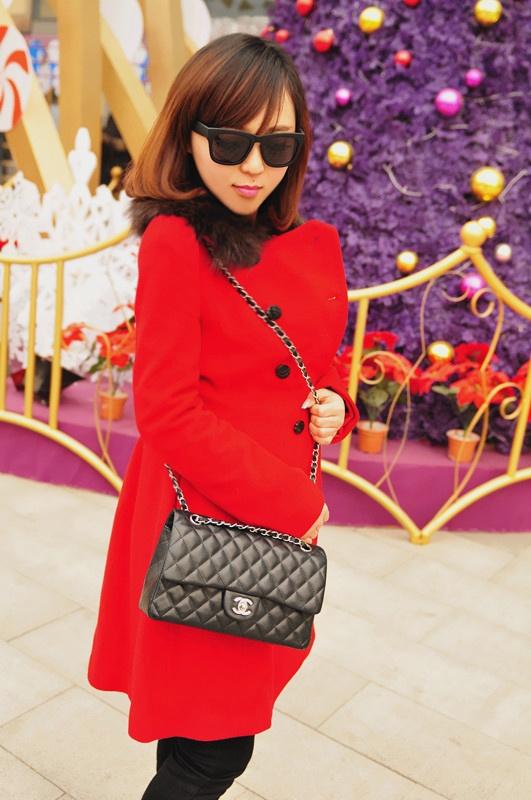 【小一】圣诞快乐,满满红色系 - 小一 - 袁一诺vivian