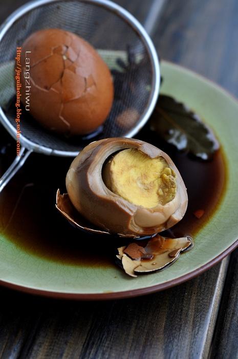 卤鸡蛋 --- 挑战乡巴佬-狼之舞 - 荷塘秀色 - 茶之韵