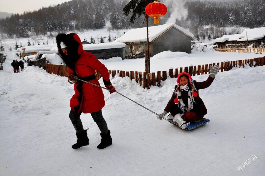 梦里雪乡:童话世界 - 余昌国 - 我的博客