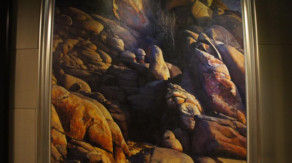 新疆野马艺术馆:精美风景油画
