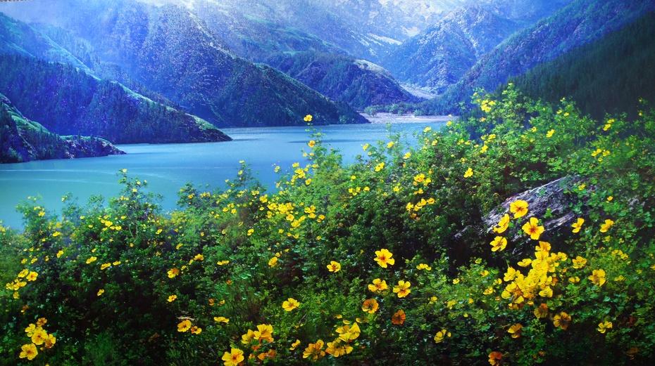 新疆野马艺术馆:精美风景油画 - 余昌国 - 我的博客