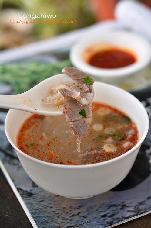 邹城羊肉汤——冬日暖身不膻不腻 - 慢生活美食客 - 慢生活美食客