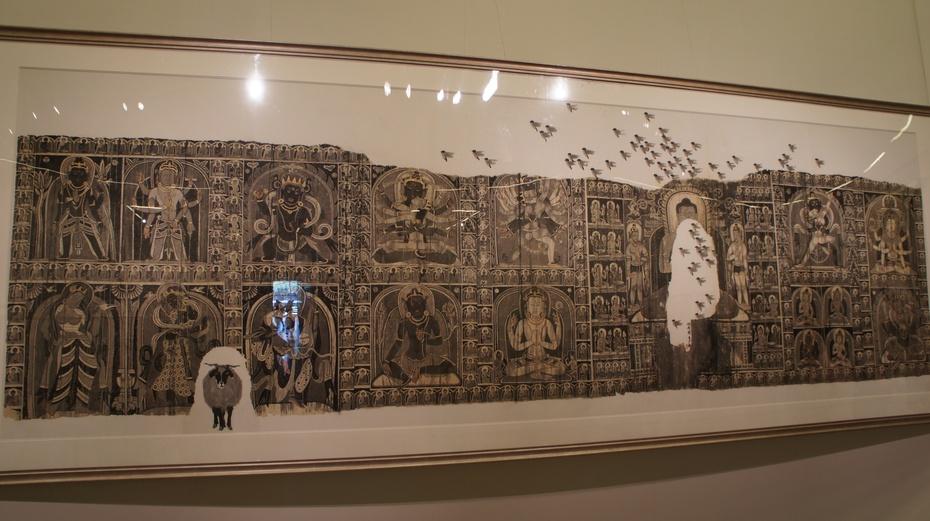 走进中国美术馆欣赏进藏画展 - 余昌国 - 我的博客