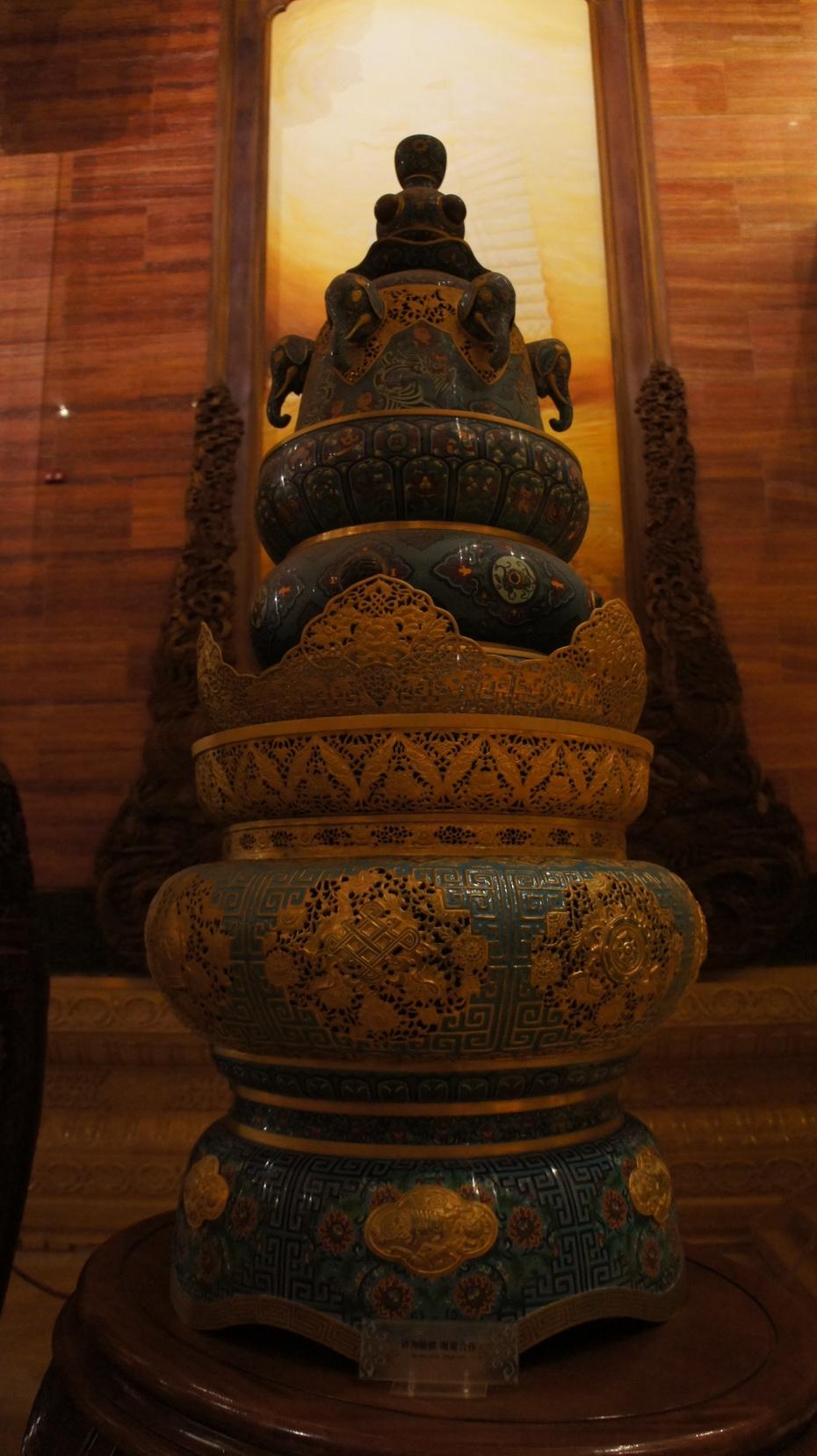 灵山胜境奇观:大佛梵宫 - 余昌国 - 我的博客