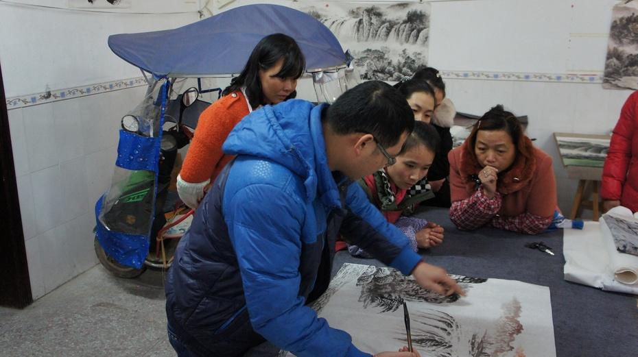 精彩的民间艺术:桂林五通农民画 - 余昌国 - 我的博客