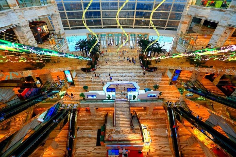 世界最大单体建筑:成都环球中心 - 余昌国 - 我的博客