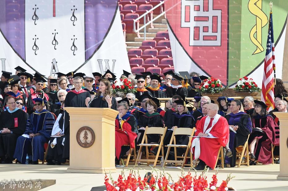 实拍2014年斯坦福大学毕业典礼 - 国防绿 - ★☆★国防绿JL★☆★