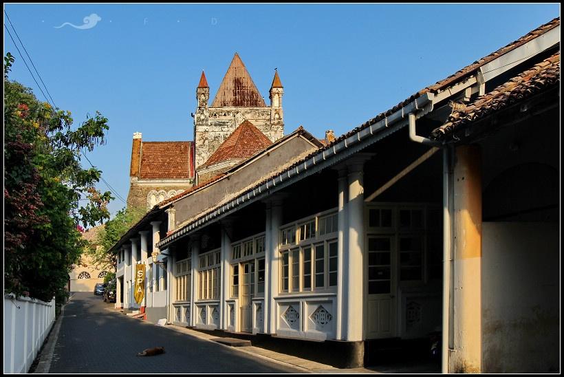 斯里兰卡加勒�9h(_在斯里兰卡的日子——加勒古城