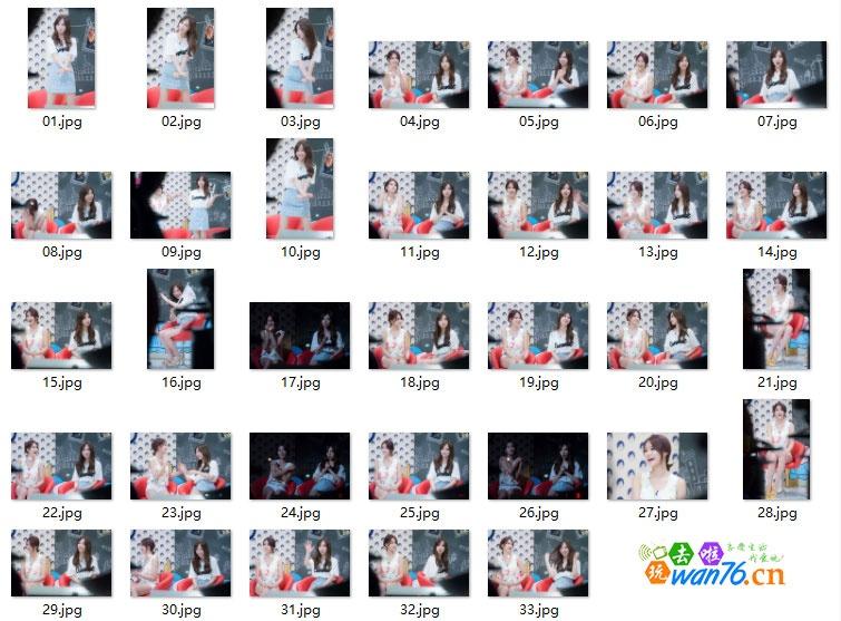 AOA-文熙俊的纯洁15岁拍摄 高清33P [百度云盘/12.8M](女团图片)