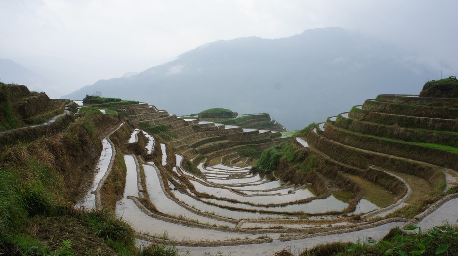 山水桂林:龙脊梯田之平安景区 - 余昌国 - 我的博客