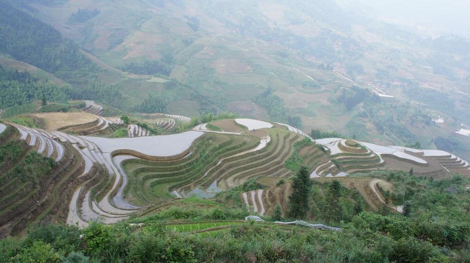 山水桂林:龙脊梯田之金坑景区 - 余昌国 - 我的博客