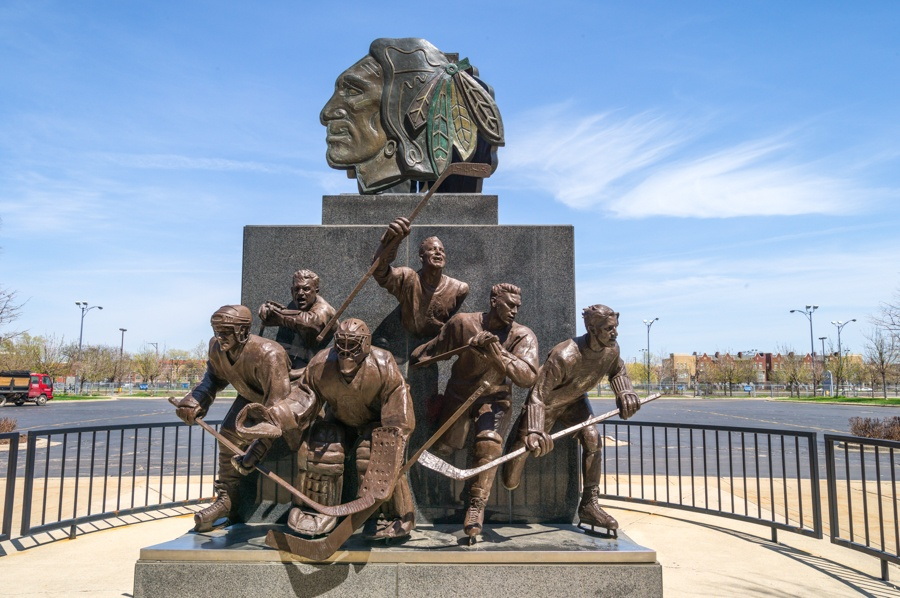 芝加哥城市美 地标雕塑高大上 - ypztwk - ypztwk原创风格