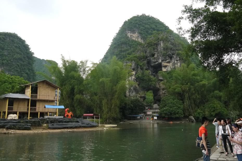 漂流遇龙河 觐见大榕树——2014五月桂林游之三